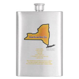 Long Island Iced Tea Drink Recipe Flask