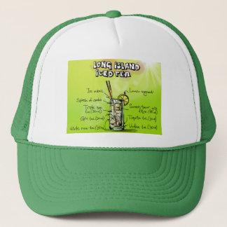Long Island Iced Tea Drink Recipe Trucker's Hat