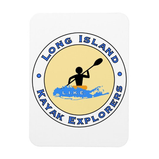 Long Island Kayak Explorers Car Magnet