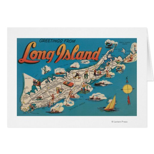 Long island new york greetings from greeting card zazzle for Custom t shirts long island ny
