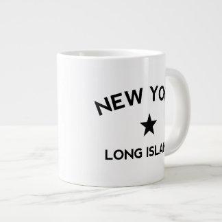 Long Island New York Large Coffee Mug