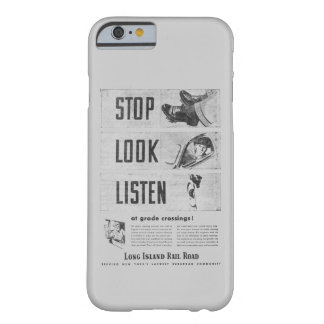 Long Island Railroad Safety Barely There iPhone 6 Case