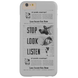 Long Island Railroad Safety Barely There iPhone 6 Plus Case