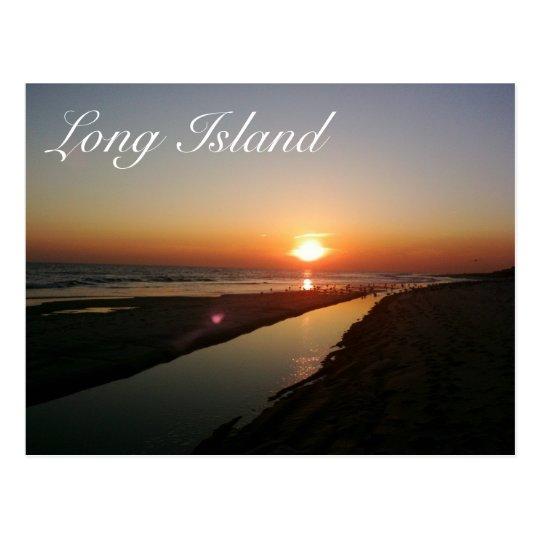 Long Island Seashore Postcard