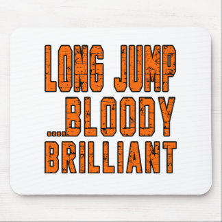 Long Jump Bloody Brilliant Mouse Pad