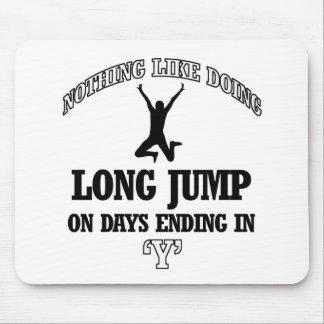 long jump designs mousepads