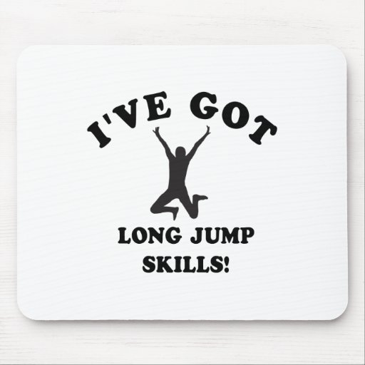 long jump skill gift items mousepad