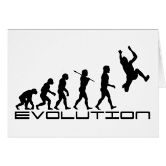 Long Jump Triple Jump Sport Evolution Art Card