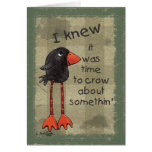 Long Legged Crow-Somethin' to Crow About Cards
