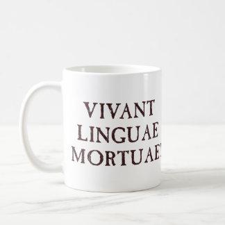 Long Live Dead Languages - Latin Basic White Mug