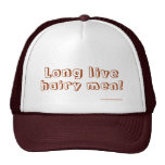 Long Live Hairy Men Customisable Hat Template