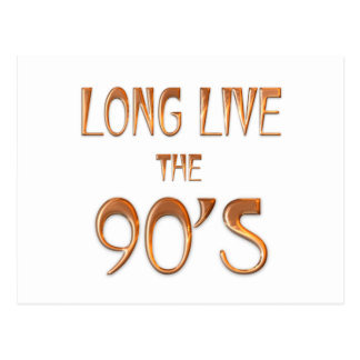 Long Live the 90s Postcard