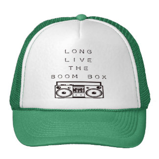 Long Live The Boom Box-Hat