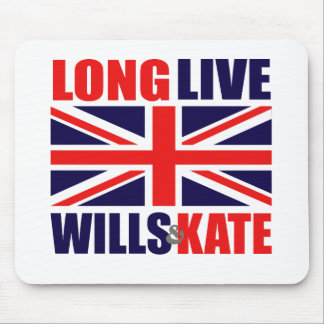 Long Live Wills & Kate Mouse Mat