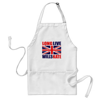 Long Live Wills & Kate Standard Apron