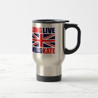 Long Live Wills & Kate Travel Mug