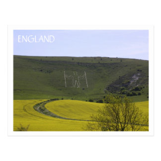 Long Man of Wilmington Postcard