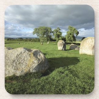 Long Meg and Her Daughters Stone Circle photo Coaster