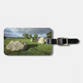 Long Meg and Her Daughters Stone Circle photo Luggage Tag