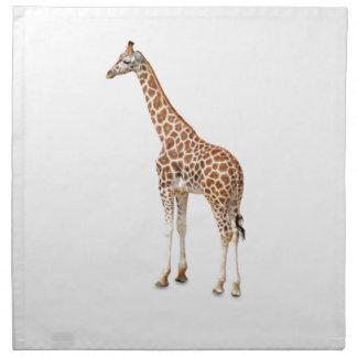 Long Neck Giraffe Napkin