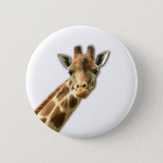 Long Necked Giraffe Pin