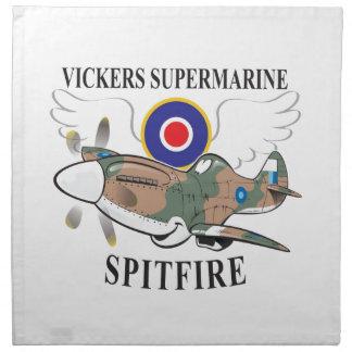 long nose spitfire napkin