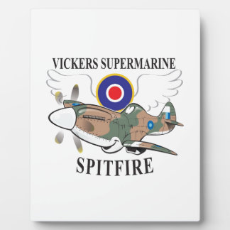 long nose spitfire plaque