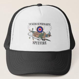 long nose spitfire trucker hat