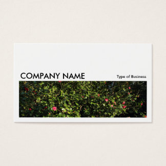 Long Picture 0175 - Camellia Bush Business Card