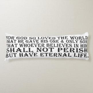 Long Pillow - John 3:16