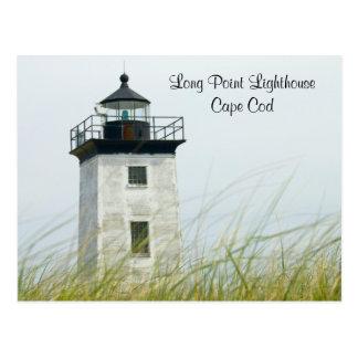 Long Point Light Provincetown Cape Cod Post Card