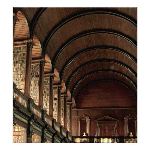 Long Room Trinity College Dublin Photograph
