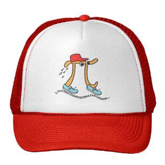 Long Running Pi - Funny Pi Guy Hat