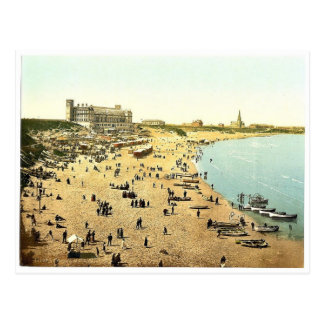 Long Sands, Tynemouth, England magnificent Photoch Postcard
