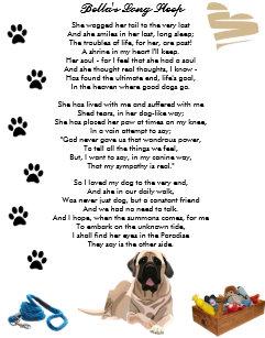 Poem Dog Death Gifts & Gift Ideas | Zazzle UK