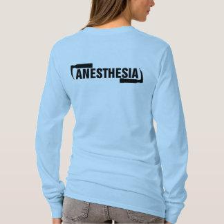 Long Sleeve Anesthesia Logo T-Shirt