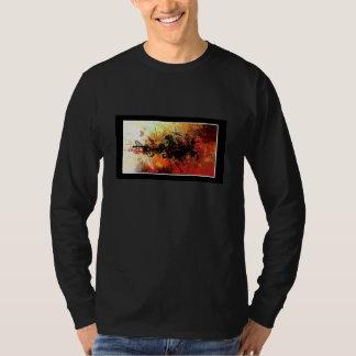 Long sleeve artsy tshirt