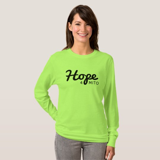 long sleeve hope 4 mito shirt womans