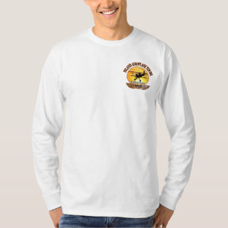 Long Sleeve Island Aeroplane Tours - Customized T-Shirt