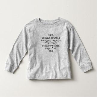 Long sleeve kids t-shirt 100% kid
