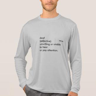 "Long Sleeve Sport-Tek Competitor ""The Deafinition"" T-Shirt"