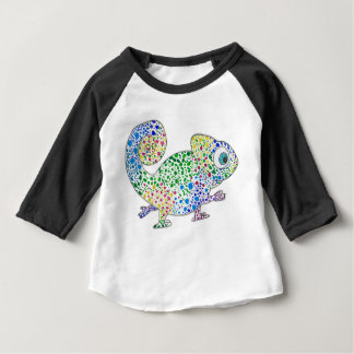 Long Sleeve Spotty Marcel the Chameleon Baby Shirt