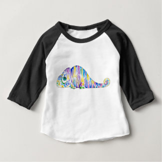 Long Sleeve Stripy Marcel the Chameleon Baby Shirt