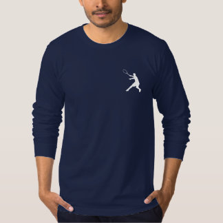 Long sleeve tennis shirt for men with cool design