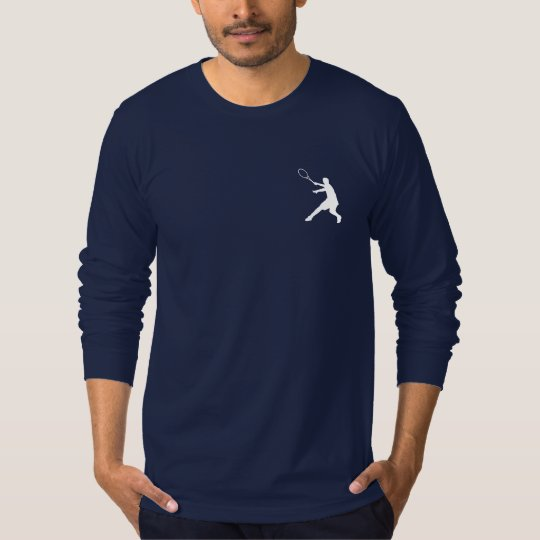Long sleeve tennis shirt for men with cool