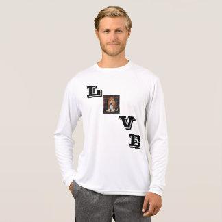long sleeve tshirt Basset hound