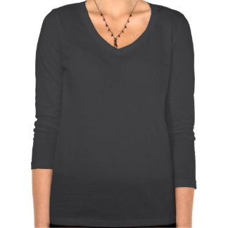 Long sleeve V neck Outlandish Sassenachs Tee Shirts