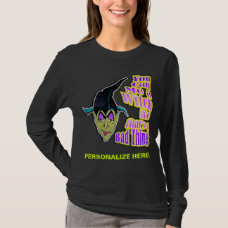 Long Sleeved Tees - Halloween Witch