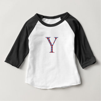 Long sleeved top and letter Y