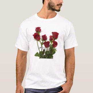 Long Stem Red Roses T-Shirt